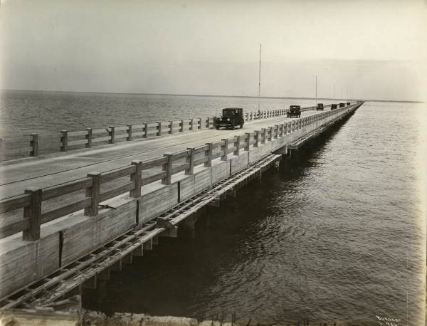 First Melbourne Causeway 1925